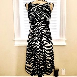 🦓 Jones New York Zebra Print Dress 🦓